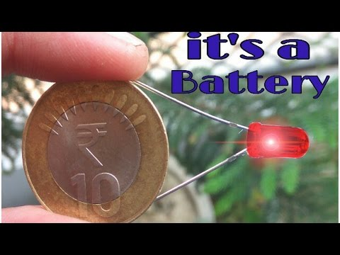 Thumbnail: How to make a battery using coin