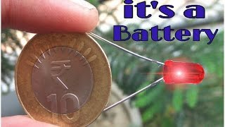 How to make a battery using coin thumbnail