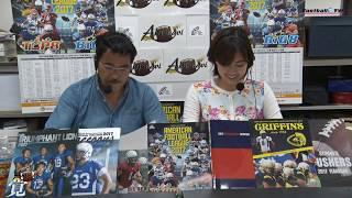 http://www.football-tv.jp/ 木曜日午後9時から毎週生配信している、関...