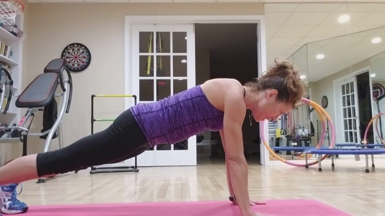 EveryBody Fitness -- CORE 4 High Plank - YouTube