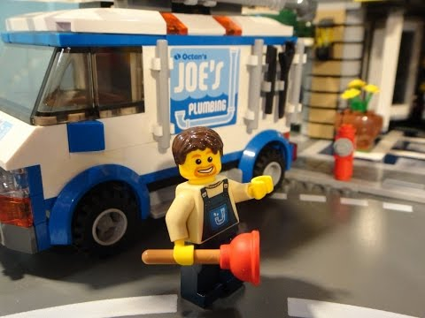 Lego Movie - Joe's Plumber Van Custom