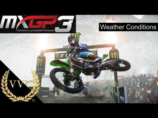 MXGP3 - Weather Conditions Gameplay Trailer