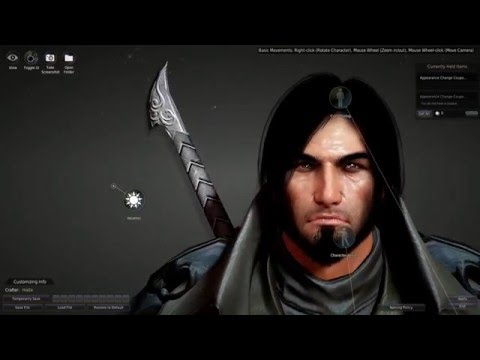 Black Desert Online - Changing Appearance