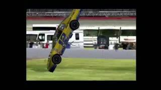 NASCAR 09 (PS2) Blowovers #1