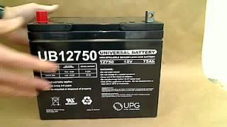 UB12750 Universal Battery | batteryspecialist.ca