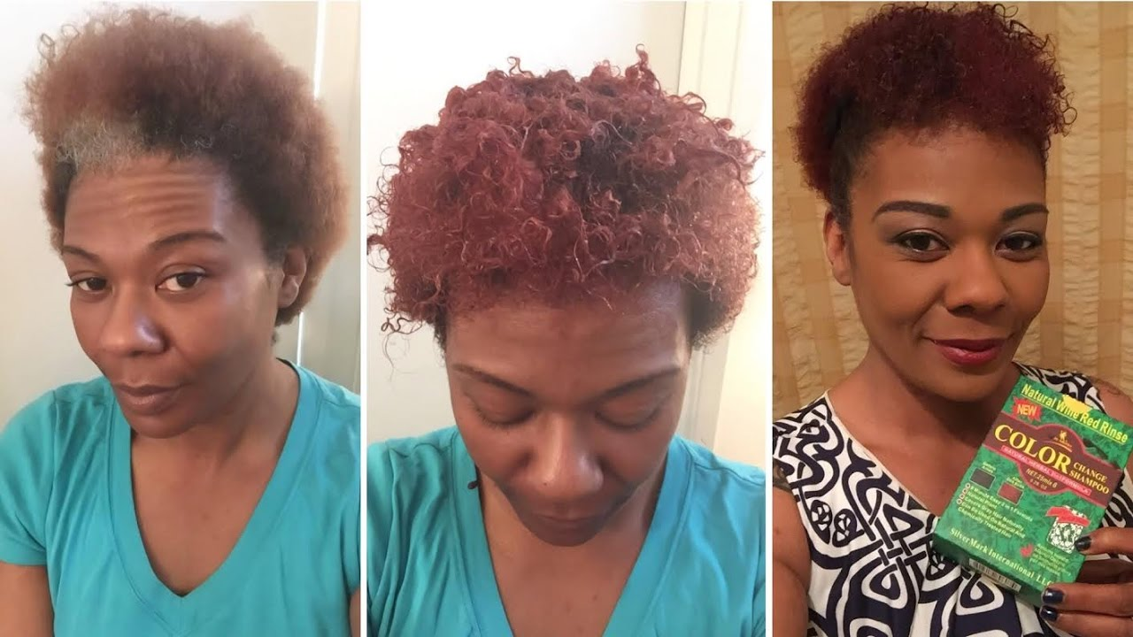 NATURAL HAIR | Color Rinse Shampoo DemoReview | DEITY HAIR CARE