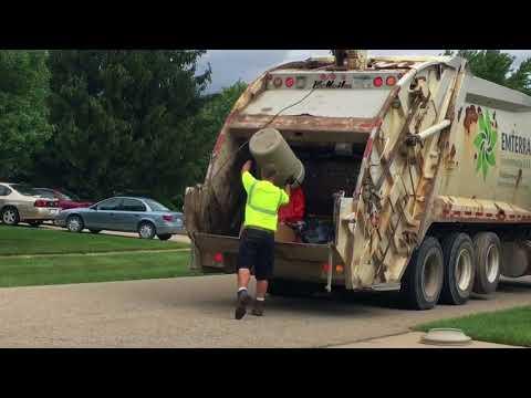Garbage pickup Emterra 8-18-17