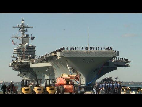 George H.W. Bush Carrier Strike Group Returns Home (HL17)