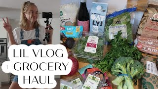 lil vlog + grocery haul