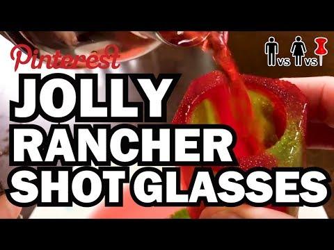 DIY Jolly Rancher Shot Glasses - Man Vs Corinne Vs Pin