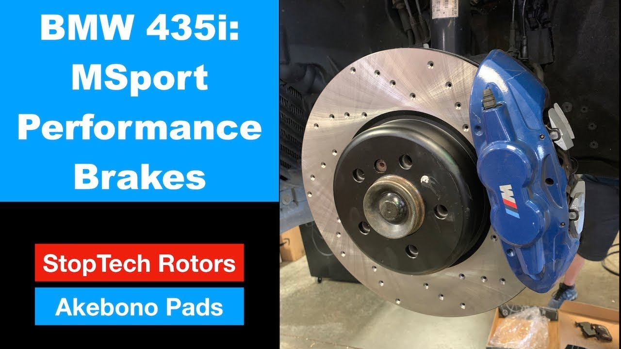 Front Drilled /& Slotted Brake Rotors For BMW 228i 328i F30 335i 428i 435i