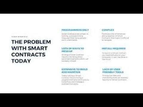 Smart Contracts auf der Blockchain - Vorteile und Probleme
