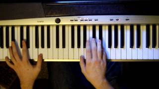 A Wolf At The Door by Radiohead on Piano (demonstration)