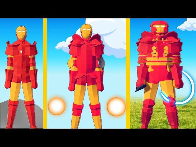 TABS - UPGRADING Iron Man Into a MEGA Unit (Totally Accurate Battle Simulator)