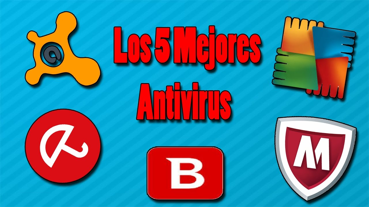 5 antivirus para pc