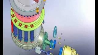 Конусная дробилка КСД 2200.wmv(Модель в 3D дробилки КСД выполнили студенты Оскольского политехнического колледжа., 2012-01-07T06:19:48.000Z)