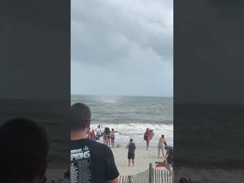 Crazy waterspout/tornado I took in Myrtle Beach SC WPDE News, WMYE News, WMBF News, NBC News NYC