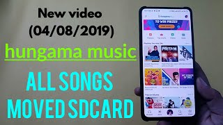 Hungama music app song moved sdcard screenshot 4