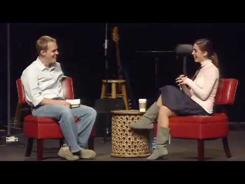 Katie Davis with David Platt at Brook Hills Church