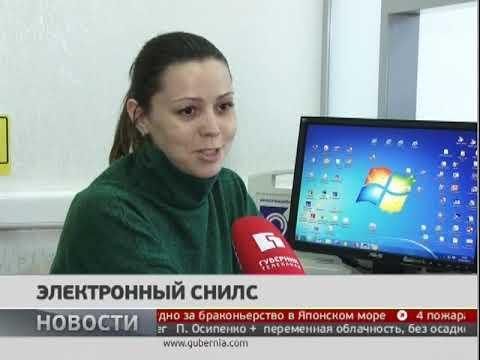 Электронный СНИЛС. Новости. 03/04/2019. GuberniaTV
