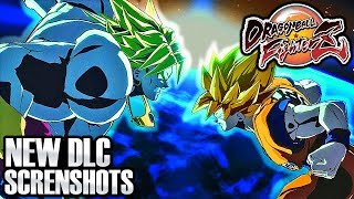 Dragon Ball FighterZ - NEW BROLY & BARDOCK DLC DRAMATIC FINISH GAMEPLAY SCREENSHOTS (DLC Pack 1)