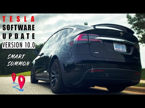 Tesla's Software Update V10.0 - Smart Summon Review