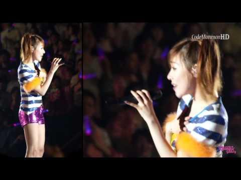 Tiffany ( SNSD ) - BORN TO BE A LADY (FanCam / Jun 4, 2011)