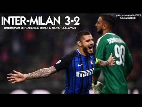 INTER-MILAN 3-2 - Radiocronaca di Francesco Repice & Fulvio Collovati (15/10/2017) da Rai Radio 1