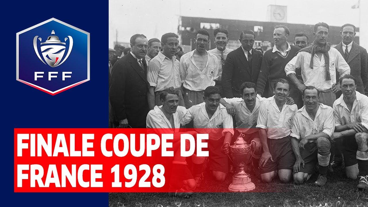 Finale Coupe de France 1928 : Red Star Olympique - CA de Paris (3-1)