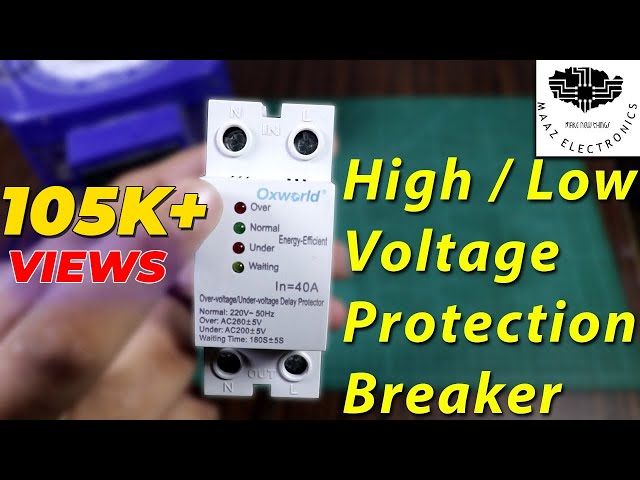 High/Low Voltage Protection Breaker for Home Appliances Hindi, Urdu
