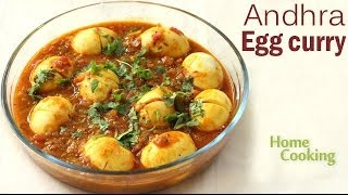 Andhra Egg curry | Ventuno Home Cooking
