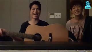 Bobby,Ju-Ne - Rain and You [Cover][V-LIVE cut]