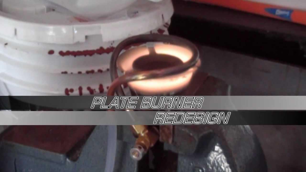 Homemade Alcohol Plate burner new design - YouTube