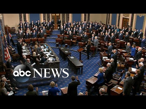 Senate impeachment trial of Trump officially begins