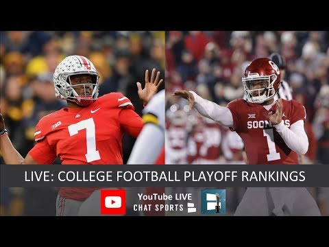 CFP Rankings LIVE – Top 25 Teams In Second-To-Last College Football Playoff Rankings