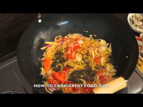 Asian Chicken & Mushroom Recipe – Wok Stir Fry