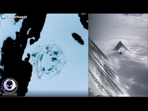 "Mystery Domed ""FORT"" Discovered In Antarctica!  1/8/17"
