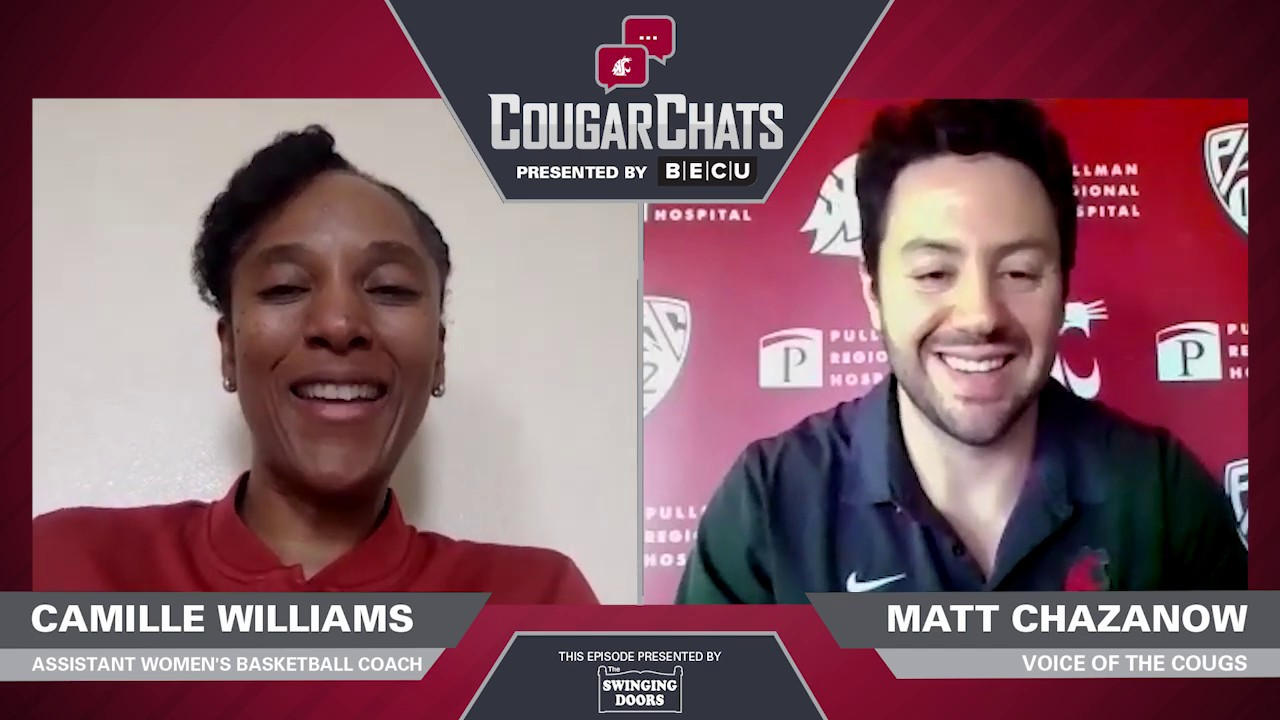 Image for WSU Athletics: Cougar Chats with Coach Camille Williams webinar