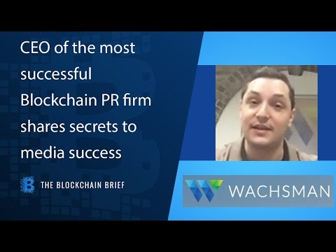 The most successful Blockchain PR firm shares secrets to media success