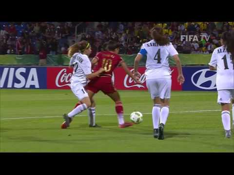 Match 1: Jordan v Spain - FIFA U-17 Women's World Cup 2016