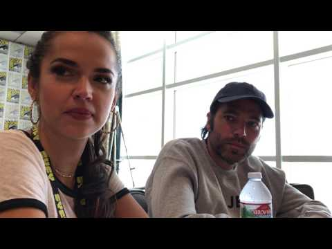 Tamara Duarte and Tim Rozon