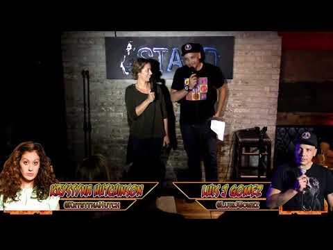 The RoastMasters 9.19.17 Main Event: Luis J. Gomez vs. Krystyna Hutchinson