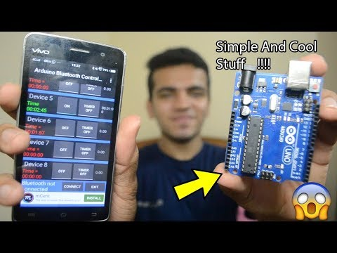 """[HINDI] Control Your Room Lights With Your Mobile 
