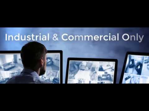 Commercial & Industrial Security Camera Systems by Texas Surveillance & Security in Houston
