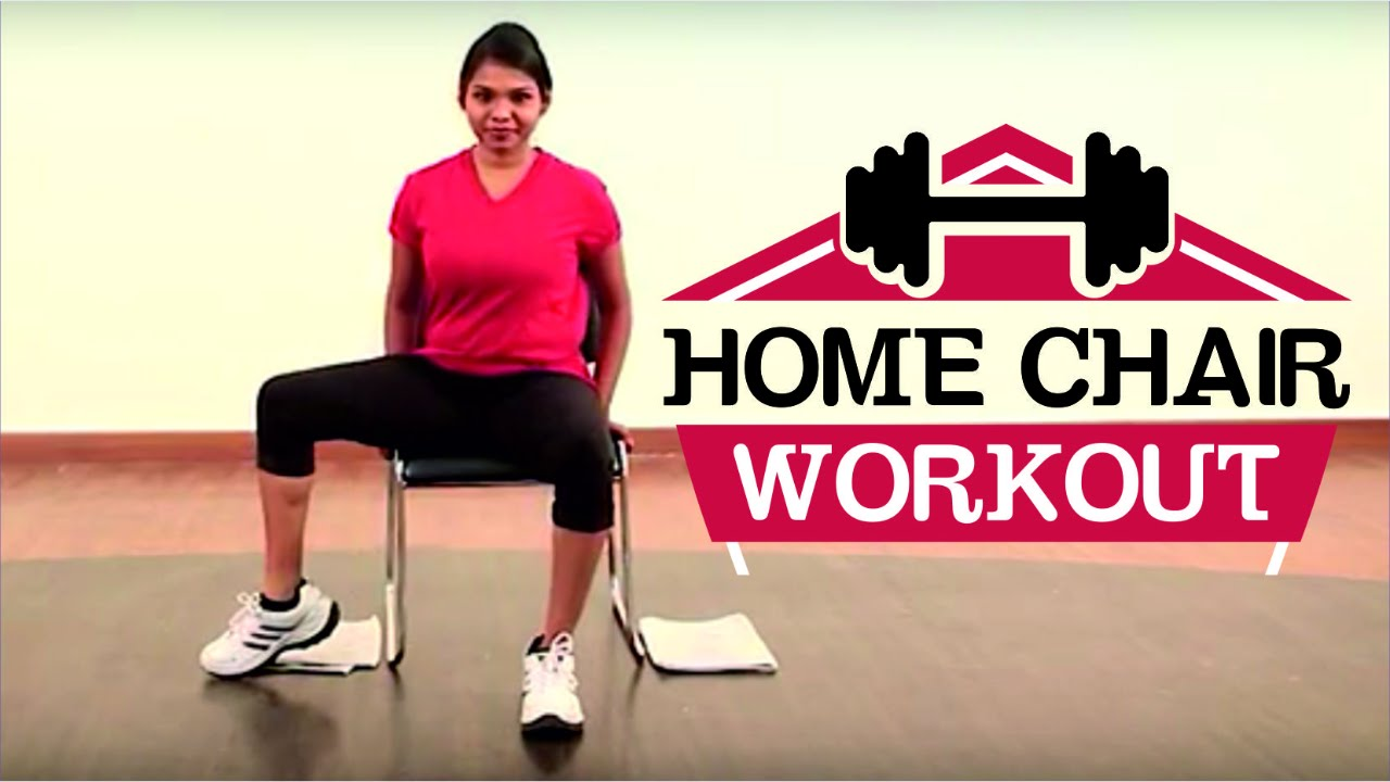 5 Min Chair Workout To Lose Weight Simple Weight Loss