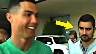 شاهد ماذا حدث عندما طلب من رونالدو التوقيع على قميص ريال مدريد..!!