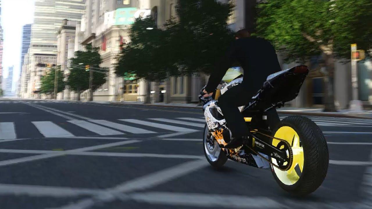 bike etylo ken block - GTA IV