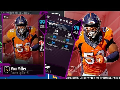 5 99 Stats!!!! | The Best Power Up Of All The Power Ups | Madden 18 Ultimate Team