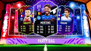 THIS IS WHAT I GOT IN 25X PARTY BAGS! #FIFA21 ULTIMATE TEAM