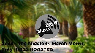 Download Lagu Zedd - The Middle ft. Maren Morris, Grey [BASS BOOSTED] Mp3